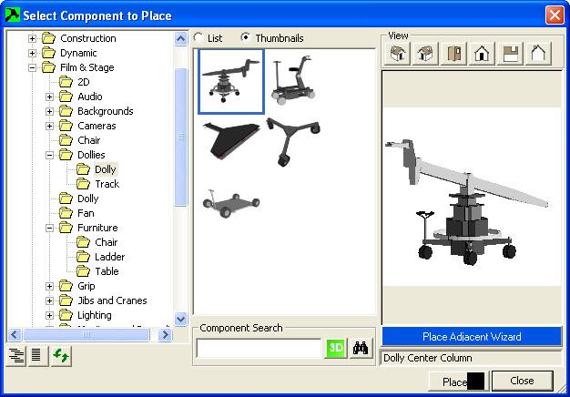sketchup  components