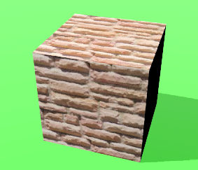 Flat rendering with SketchUp store texture.