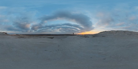 Sunset in the Chalk Quarry.jpg